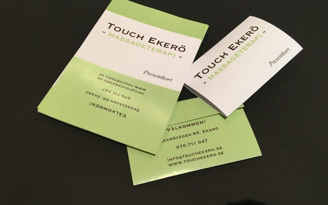 Presentkort – Touch Ekerö