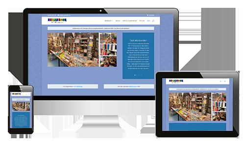 Webbplats – Scrapbook