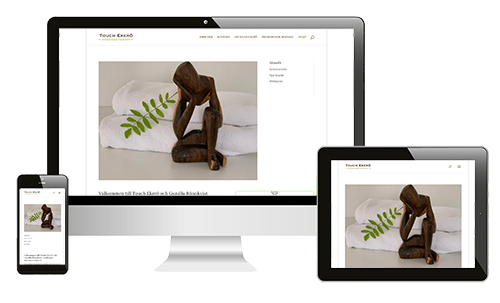 Webbplats Touch Ekerö